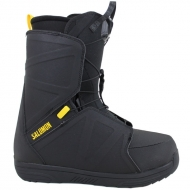 Snieglentės Batai Salomon Faction Black / Yellow