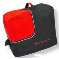 Batų/šalmo dėklas Cube black/red