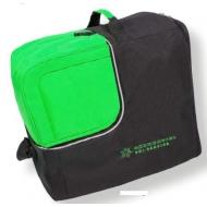 Batų/šalmo dėklas Cube black/green