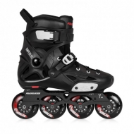 Riedučiai Powerslide URBAN Imperial One 80 Black Crimson