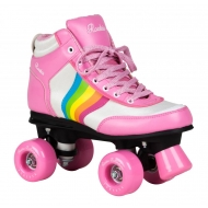 Rookie riedučiai Forever Rainbow V2 Pink/Multi