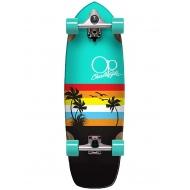 """Ocean Pasific surfskate 29""""5 Sunset"""