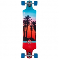 D Street Drop Down Hawaiian Blue/Red