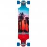 D Street Drop Down Hawaiian Blue/Red