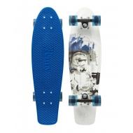 "Penny Cruiser 27"" Storm Trooper Blue/White"