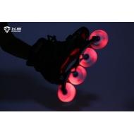 Šviečiantys LED Flying Eagle LazerWheelz Multi 80mm