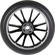 110MM District Wide Twin Core Wheel Black/Black