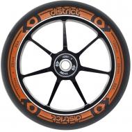 110MM District Dual Width Core Wheel Black/Orange