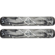 Striker Thick Logo Pro Grips (Black/White)