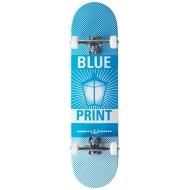 "Riedlentė Blueprint Pachinko (8"" – Blue/White)"