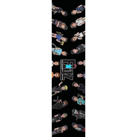 Figz XL Pro Scooter Grip Tape (Multi V2)