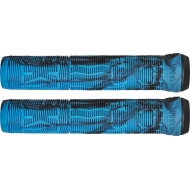 Lucky Vice 2.0 Pro Scooter Grips (Black/Blue Swirl)