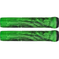 Lucky Vice 2.0 Pro Scooter Grips (Black/Green Swirl)