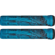 Lucky Vice 2.0 Pro Scooter Grips (Black/Teal Swirl)