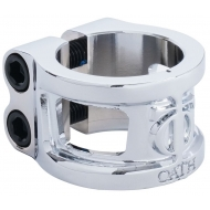 Oath Cage V2 Alloy 2 bolt Clamp Silver