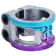 Oath Cage V2 Alloy 2 bolt Clamp Blu/Pur/Tit