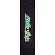 """Hella Grip 9"""" Pro Scooter Grip Tape (Classic Blue/Yellow)"""