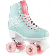 Rio Roller Script Skates Teal/Coral
