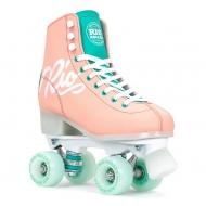 Rio Roller Script Skates Peach/Green