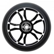 110MM District Wide Milled Core Wheel– Black/Black