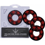 110MM BLUNT wheel stickers HOLLOWCORE SPIN