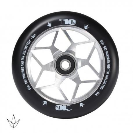 110MM BLUNT wheel Diamond Silver