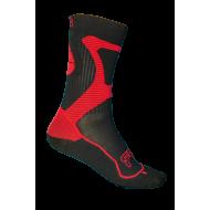 FR - Nano Sportinės kojinės Black/Red