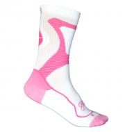FR - Nano Sportinės kojinės White/Pink