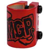 MGP triple clamp red