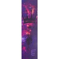 Longway Printed Pro Scooter Grip Tape (Skull King - Purple)