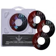 110MM BLUNT wheel stickers HOLLOWCORE SPLIT
