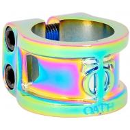Oath Cage V2 Alloy 2 bolt Clamp Neo Chrome