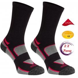 Riedučių kojinės 2 Poros Moteriškos