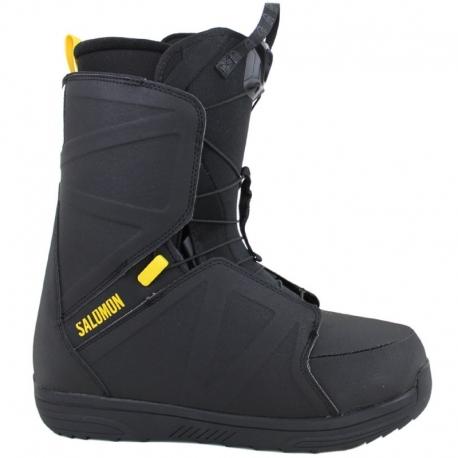 Snieglentės Batai Salomon Faction Black / Yellow