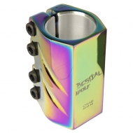 BW clamp 4 screws rainbow 32-35mm