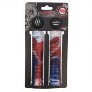 BW grips white/blue/red