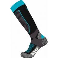 Slidinėjimo kojinės Relax Compress blue