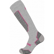 Slidinėjimo kojinės Relax Alpine grey