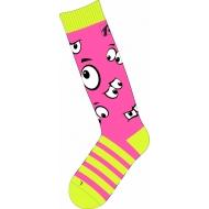 Slidinėjimo kojinės Relax  Jr. Happy pink